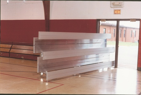 Tip-n-roll Bleachers