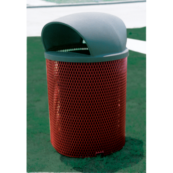 55 Gal. Diamond Trash Receptacle - WC Series