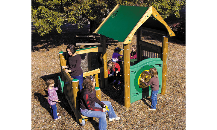 Activity Playhouse (Wood)