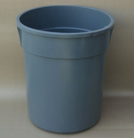 22 Gal. Trash Receptacle Liner - Gray
