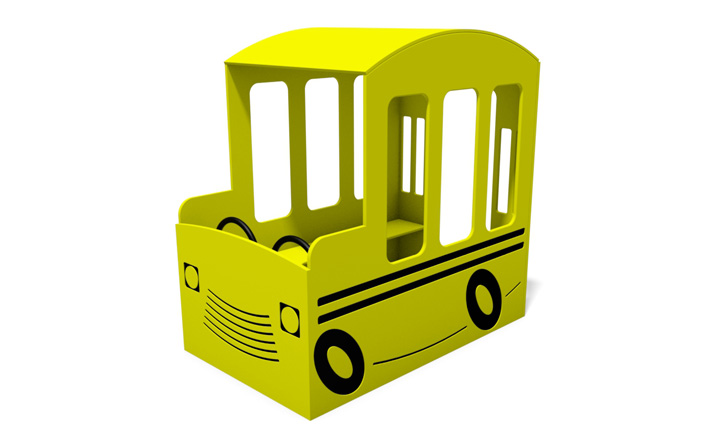 School Bus Playhouse