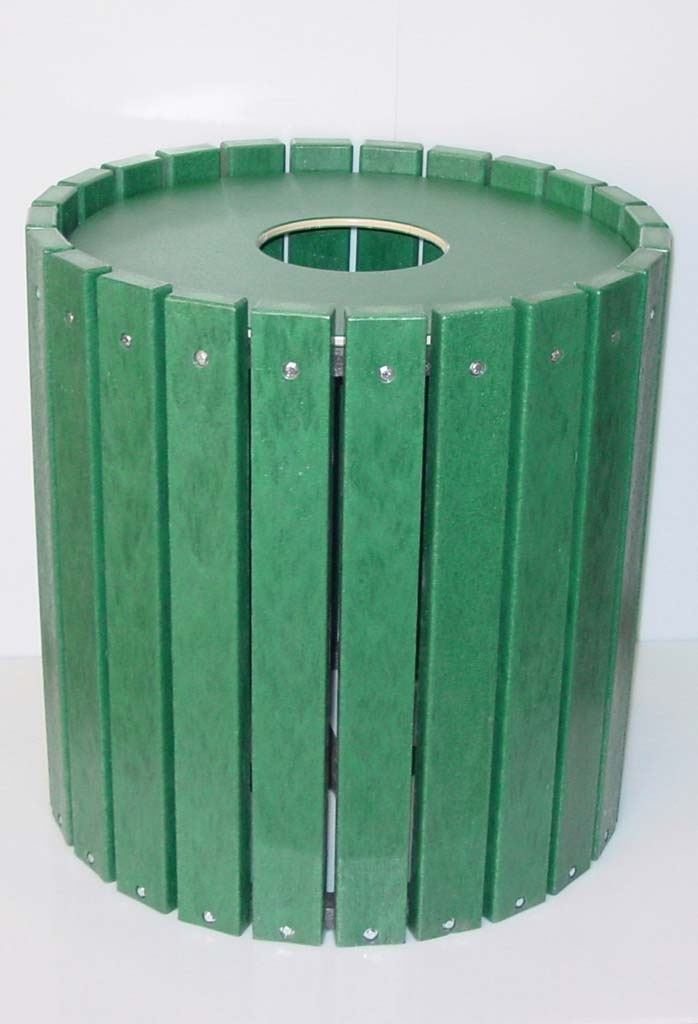 Recycled Trash Can
