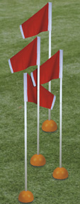 Corner flags for Soccer