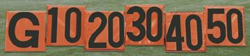 Sideline markers