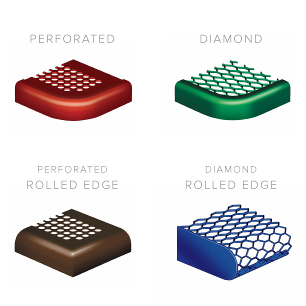 Diamon_Perforated_Rollned_NonRolled