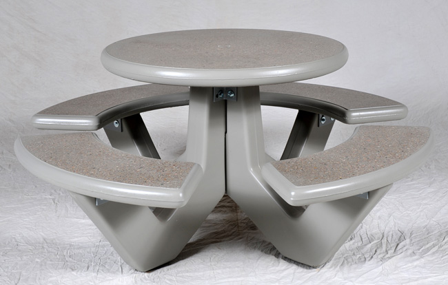 Concrete Round Table