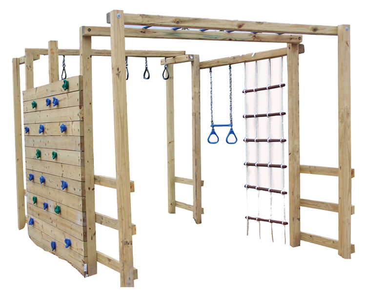 Jungle gym plans pdf woodworking for Wooden jungle gym plans