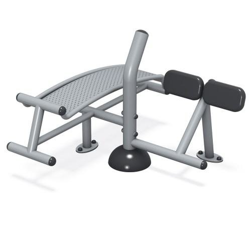 Sit-Up / Back Extension Station - Fit Series