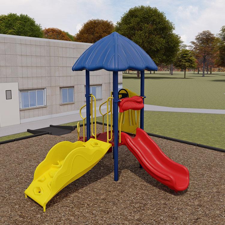 Inspiration Photo Tiki Hut: Turn-Key Playground Bundle