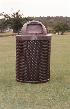 Diamond Trash Receptacle Kit - 22 Gallon