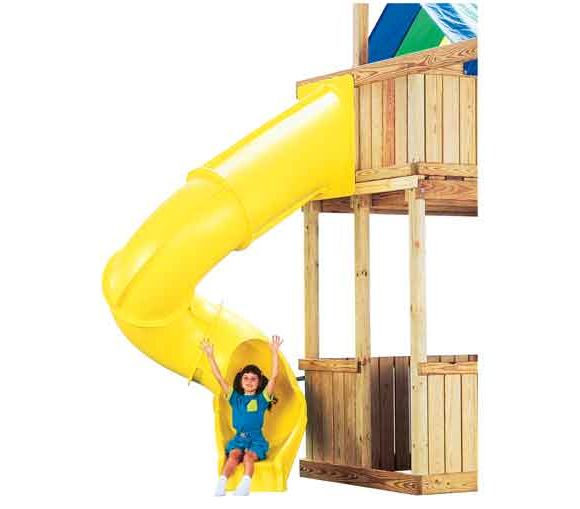 swing n slide turbo tube slide instructions