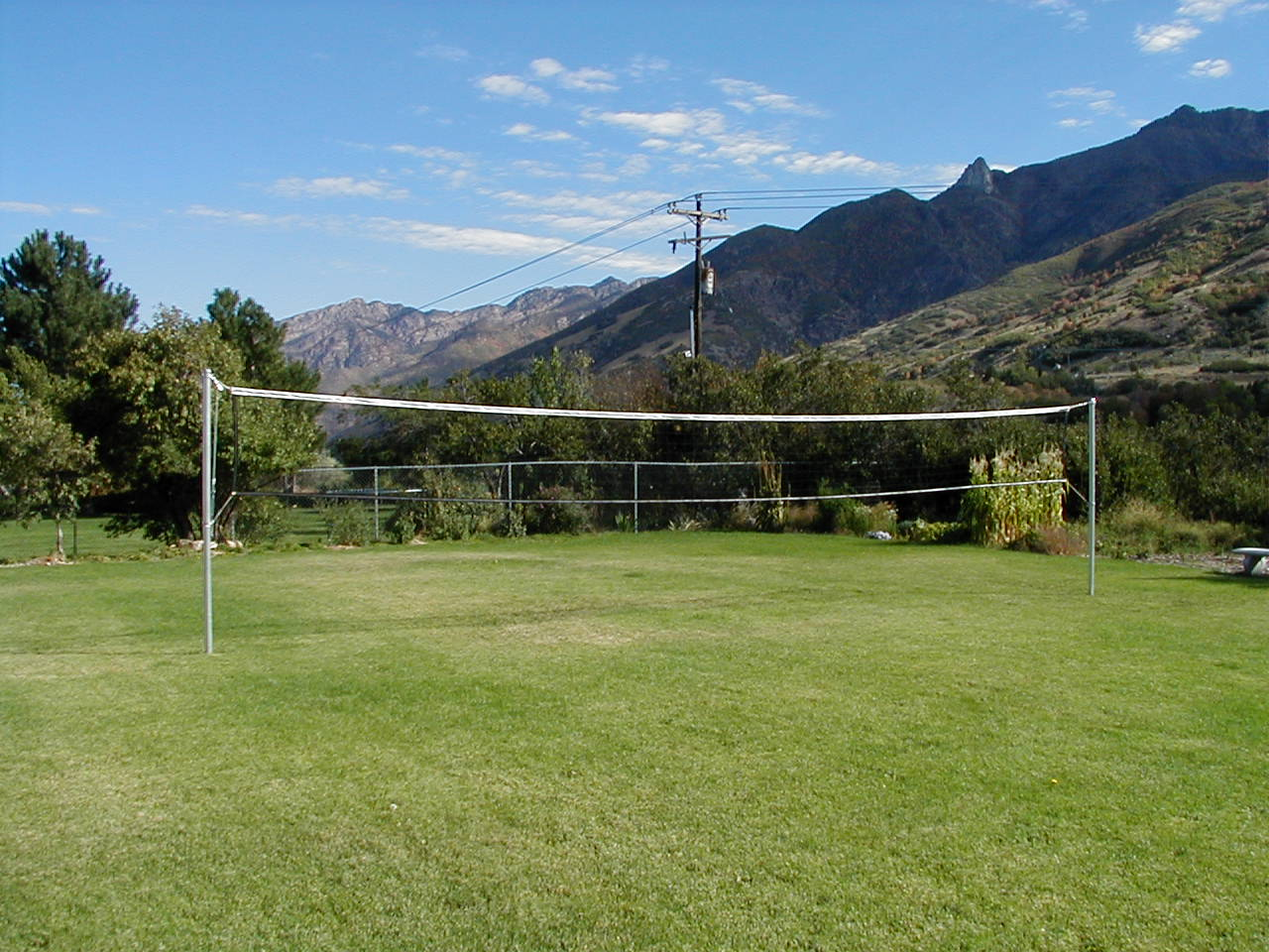 new how to make a backyard volleyball net draw