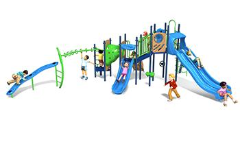 cabana bay playground set
