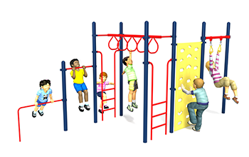 fit stop playground set