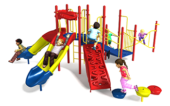 looney dunes playground set