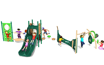 sherwood forest playground set