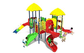 slide and seek playground set