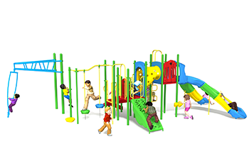 spin cycle playground set