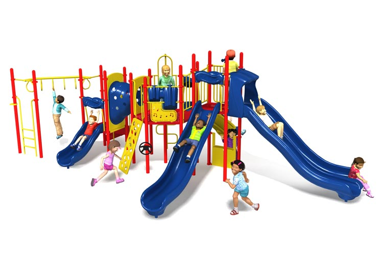 bells and whistles playground set