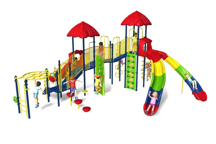 cosmic comet playground equipment