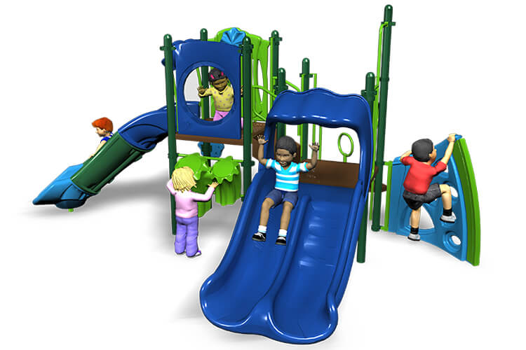 turtle tude commercial playground