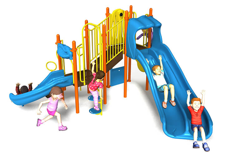waterfall way commercial playground equipment