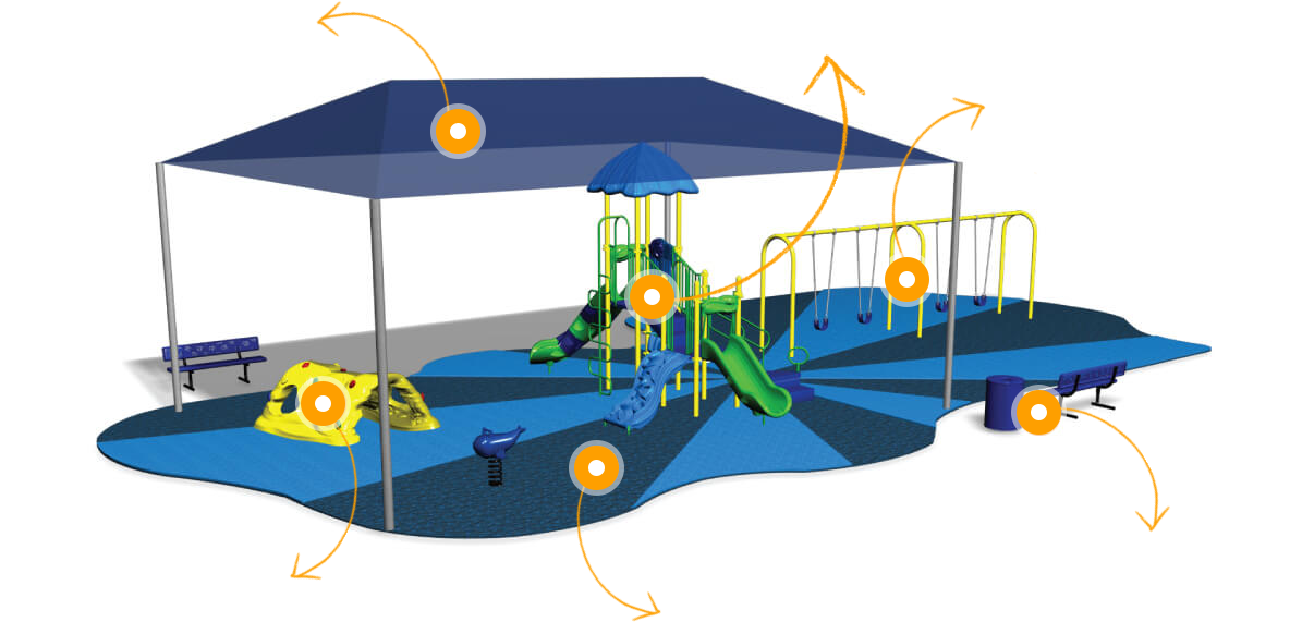 3d playground image for planning