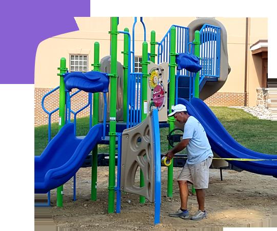 professional playground installation service